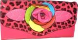 Lasslee Women Casual Pink  Clutch