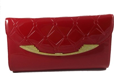 Dazzling Array Casual Red  Clutch