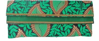 Angelfish Women, Girls Casual Green  Clutch