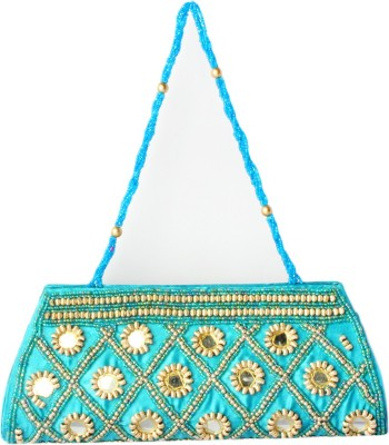 Haster Blue  Clutch