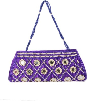 Haster Purple  Clutch