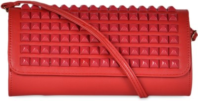 Hopping Street Girls Party Red  Clutch