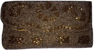 AABHASTORES Gold  Clutch