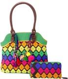 Jaipurse Women Casual Multicolor  Clutch