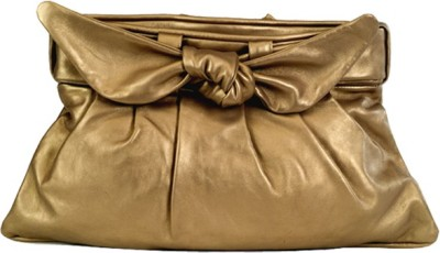 Stylogy Girls Casual Gold  Clutch