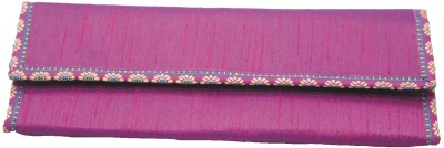 Vakula Exports Formal Pink  Clutch