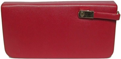 Sunvalley Maroon  Clutch