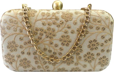 Bhamini Party Gold  Clutch