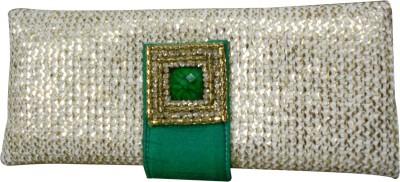 Balee Fashions Women Party Green  Clutch