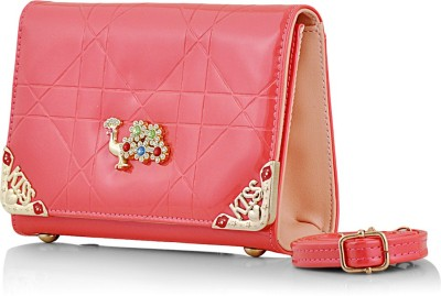 Eyeslanguage Party Pink  Clutch
