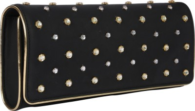Zaera Women Party Black  Clutch