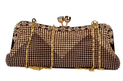 BH Wholesale Market Girls Casual Brown  Clutch