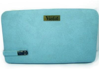 VIOLET Formal, Casual Blue  Clutch