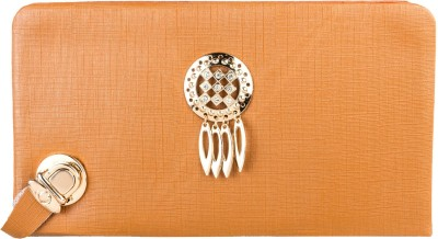 Louise Belgium Casual Brown  Clutch