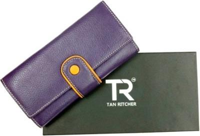 TAN RITCHER Purple  Clutch