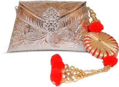 Ruhmet Women Casual, Party, Wedding Silver  Clutch