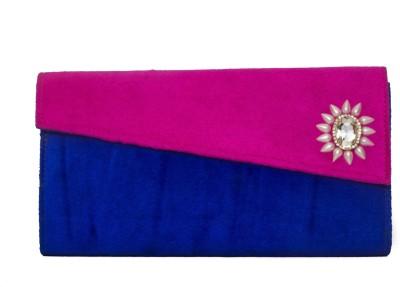 Designish Formal, Festive Pink, Blue  Clutch