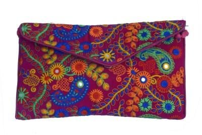 Craft Trade Festive Multicolor  Clutch