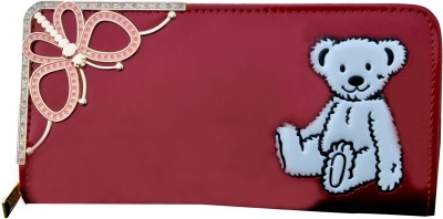 SK-Effects7 Casual Maroon  Clutch