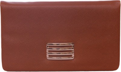 WR Party, Formal, Casual Brown  Clutch