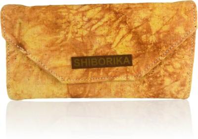 Shiborika Women Casual Yellow  Clutch
