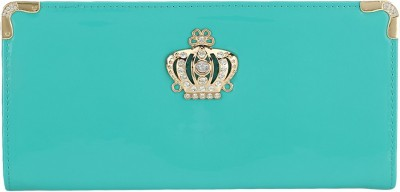 Fashion Hikes Party Green, Gold  Clutch