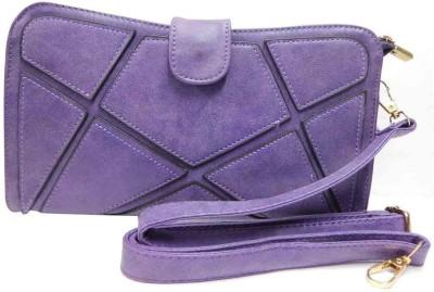 Laviva Purple  Clutch
