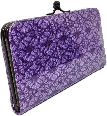 Bagzmania Women, Girls Casual, Formal, Festive Purple  Clutch