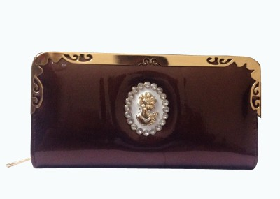MSELACTOS Wedding, Casual, Party, Formal Brown  Clutch