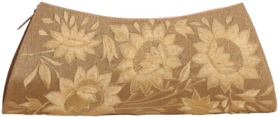 Soulful Threads Festive Beige  Clutch