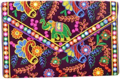 Kwickdeal Casual Purple  Clutch
