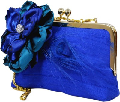 Saint Pure Women Formal Blue  Clutch