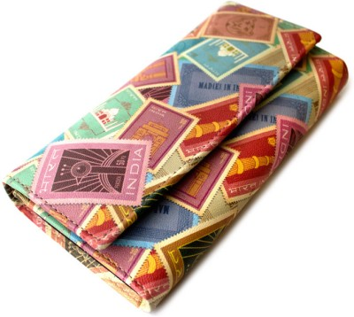 Mad(e) in India Women Casual Multicolor  Clutch