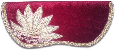 Linzina Wedding, Casual, Party, Festive Maroon  Clutch