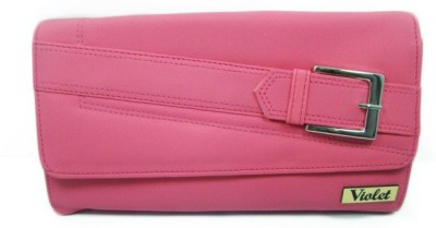 VIOLET Party, Casual Pink  Clutch
