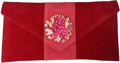 MD Retails Formal Red  Clutch