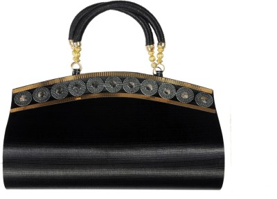 Arti Women Party Black  Clutch