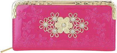 Fashion Hikes Party Pink, Gold  Clutch