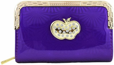 Harini Casual, Wedding, Party Purple  Clutch