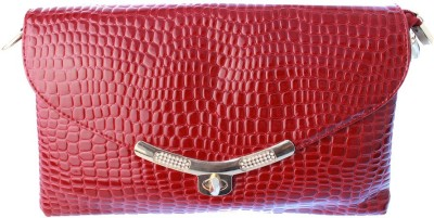 Lion Heart Wedding, Party Red  Clutch