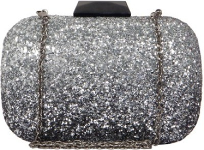 Cappuccino Girls Party Grey  Clutch