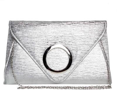Reedra Casual Silver  Clutch