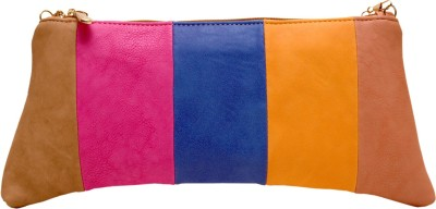 SG Collection Women Party Multicolor  Clutch