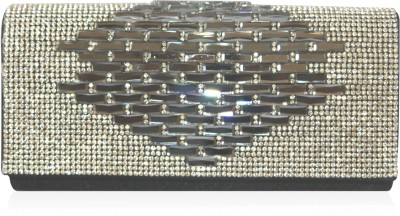 Inspired Living Women Party Black  Clutch