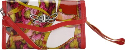 Ambience Casual Red, Pink  Clutch
