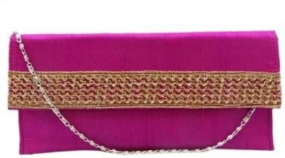 Bhamini Women Casual Pink  Clutch