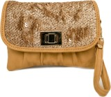 SG Collection Women Party Beige  Clutch