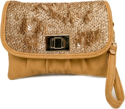 SG Collection Party Beige  Clutch