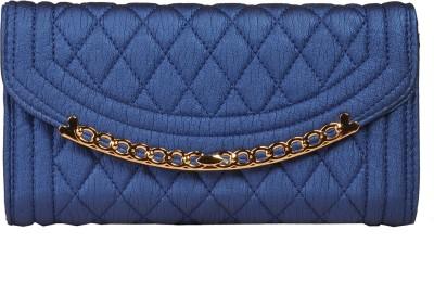 Priya Shop Party Blue  Clutch