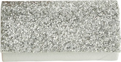 Naitik Products Silver  Clutch